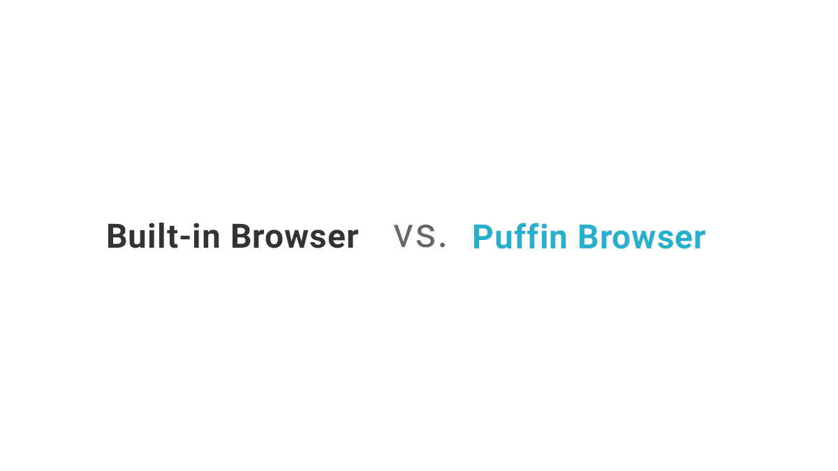 Puffin Browser on Windows - When it comes to Puffin's speed, the